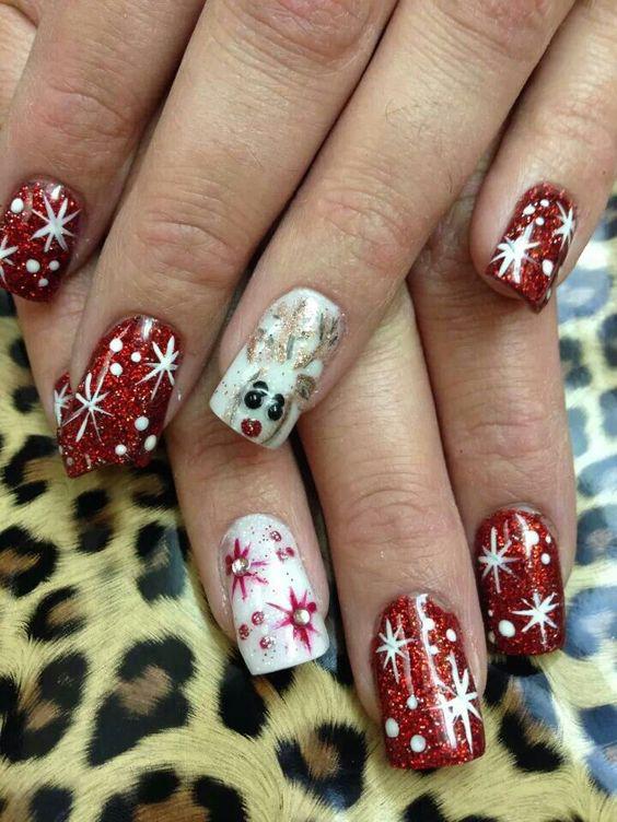 59 christmas nail art ideas for early 2020 59 christmas nail art ideas for early 2020