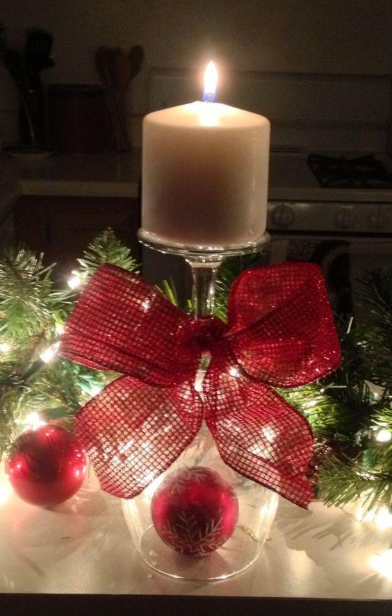 30+ DIY ideas for Christmas Decorations;Table Decorations; Christmas Candles; DIY Christmas Centerpiece; Christmas Crafts; Christmas Decor DIY