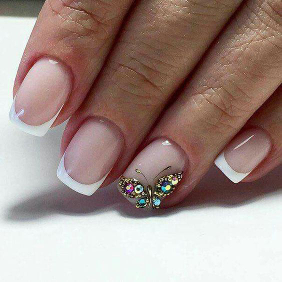 butterfly drawing;butterfly birthday party;butterfly nails art;butterfly nail designs;nude nails