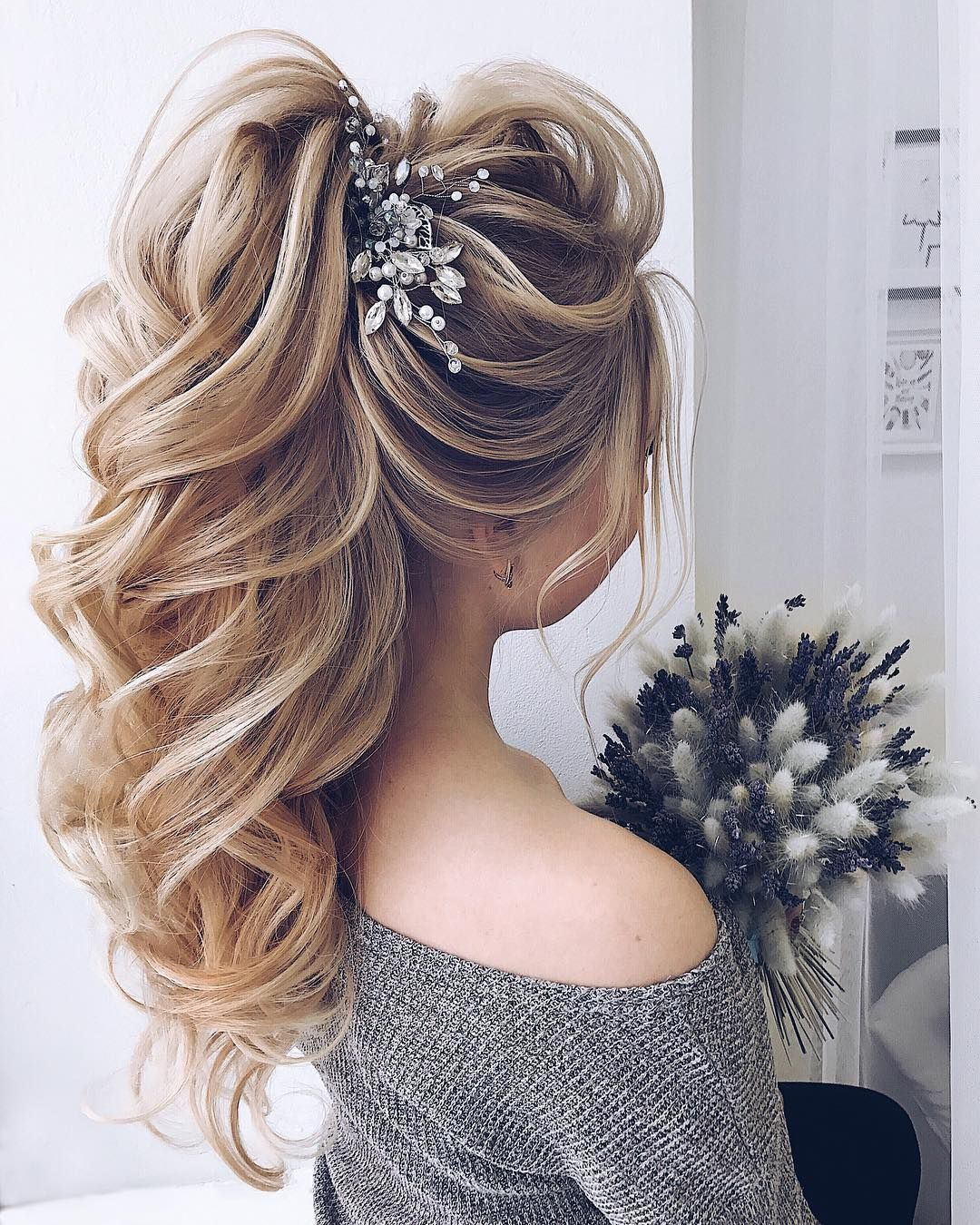Wedding Hairstyle Trends 2019: DIY Ponytail Ideas You're Totally Going To Want To 2019