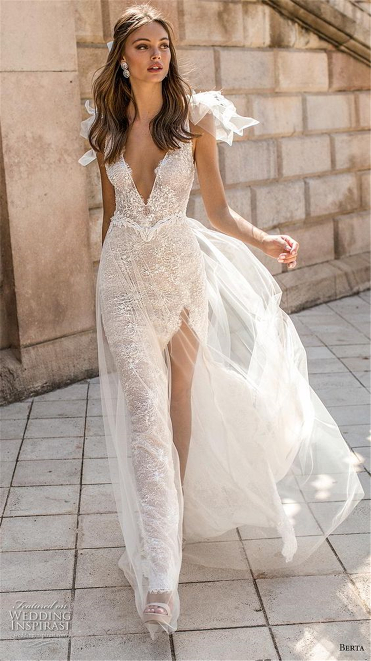 Sexy V Neck Princess Wedding Dress, White Wedding Dresses, Sexy Wedding Dresses, Beautiful Wedding Dresses. Off-The-Shoulder Wedding Dresses, V Neck Mermaid Dresses.