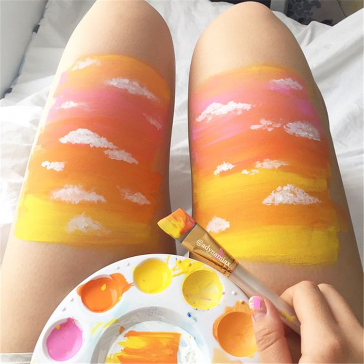 Bold Body Painting Art Ideas To Try, Body Paining Art, Women Body Paining, Body Paining Artistico Espalda
