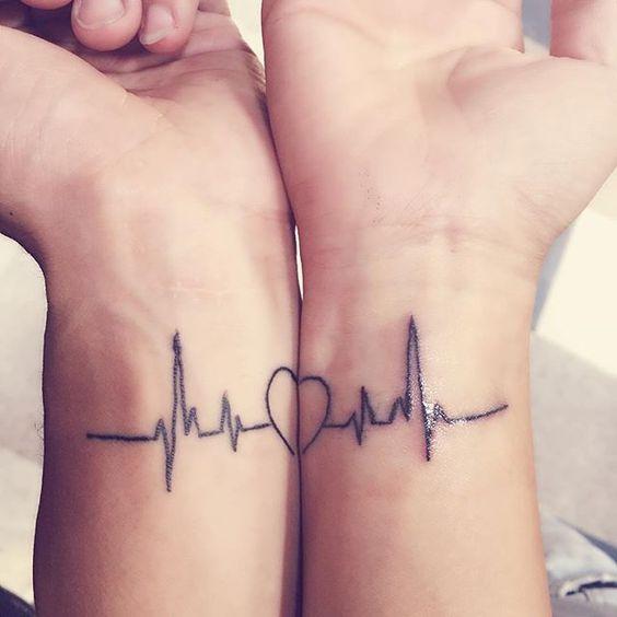 Minimalist Heartbeat Tattoo Ideas Best Tattoo Ideas