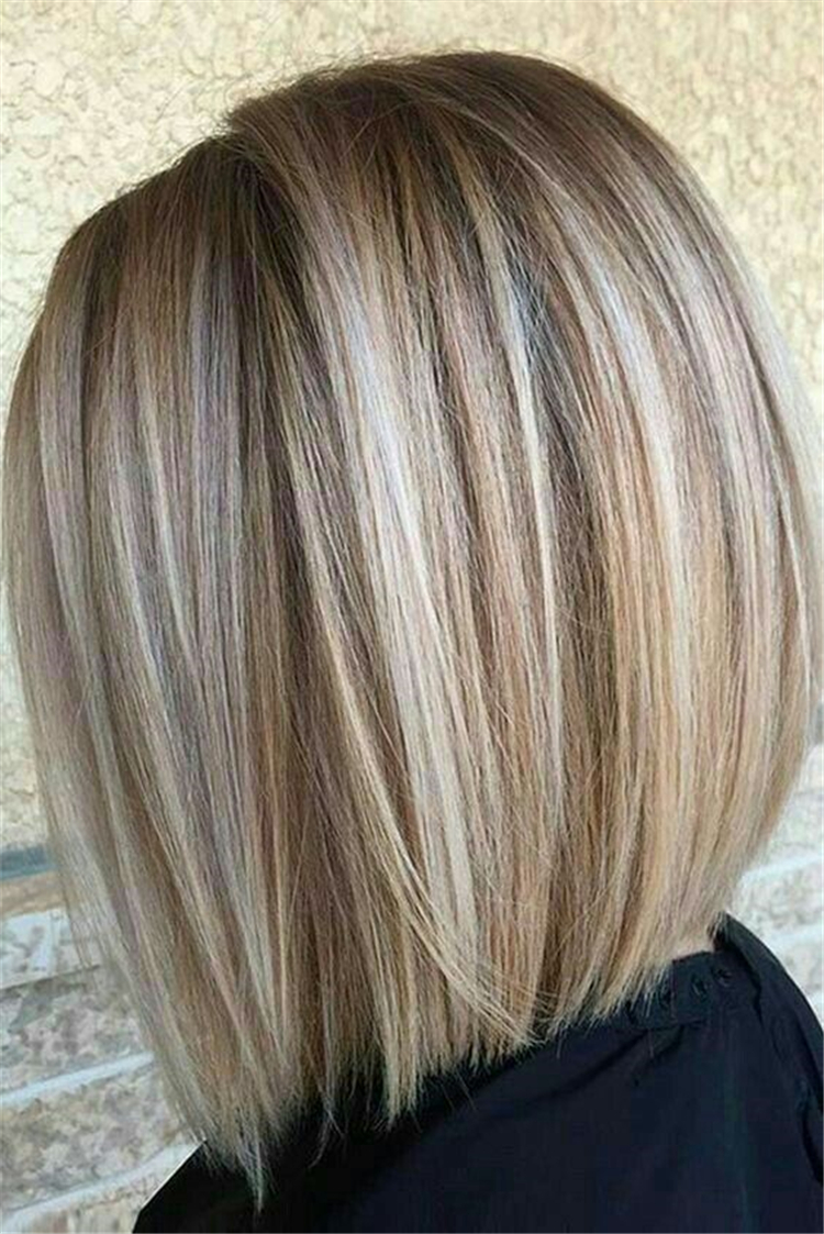 20 Straight Medium Length Hairstyles For Women To Look Attractive