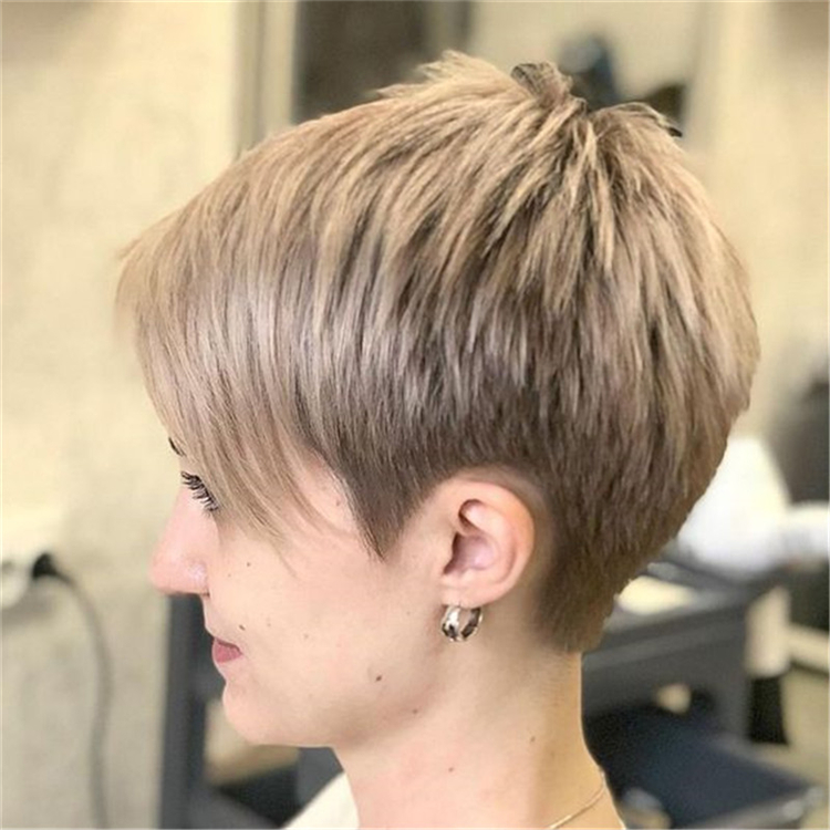 Cool Platinum Pixie Haircut For Thin Hair Ideas Sumcoco Blog