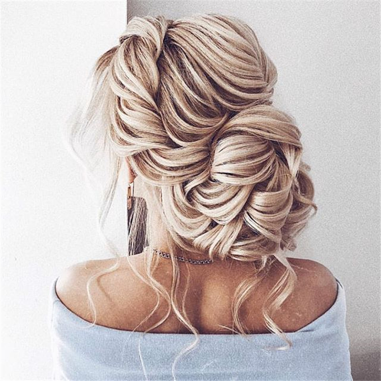40 Inspiration For Wedding Day Hairstyles For Long Hair Sumcoco