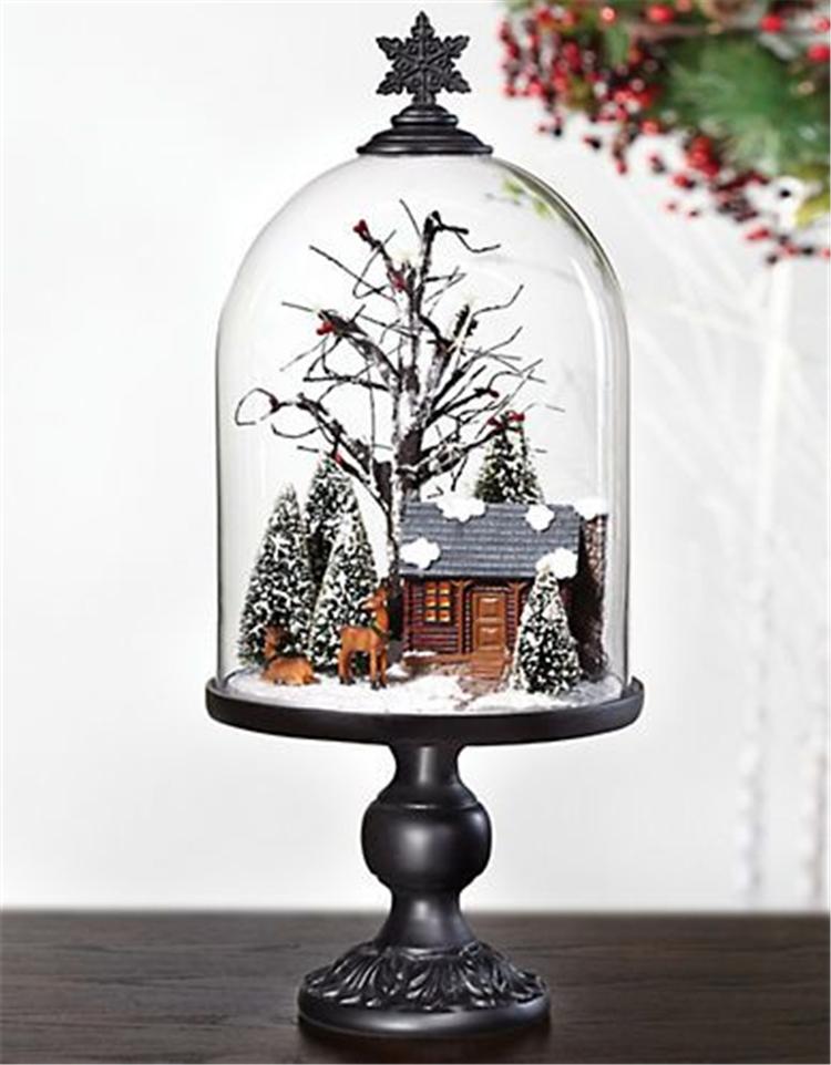 Christmas Decorations, Christmas tree Decorations, Table Decorations, DIY Christmas Centerpiece, Christmas Crafts, Christmas Decor DIY, Rustic Natural Decoration, Home Decor,Christmas Apothecary Jar #Sumcoco