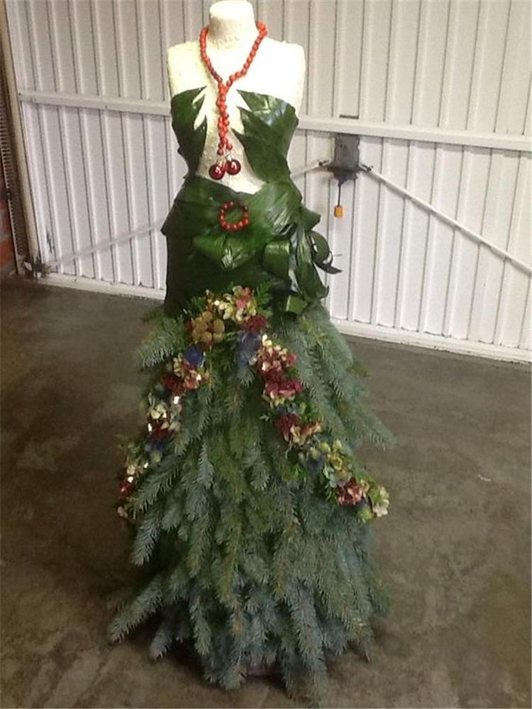 Christmas Tree Dress Decorations; Christmas Tree Decorations; Christmas Crafts; Christmas Decor DIY; Rustic Natural Decoration; Home Decor; #Christmasdecor