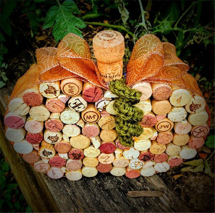Wine Cork Crafts; Christmas Wine Cork Ornaments; Easy Wine Cork Ideas Crafts For Kids