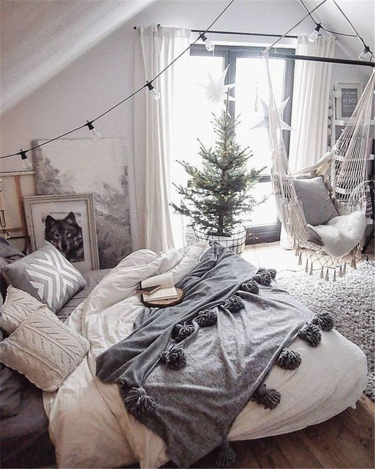 Bedroom Decor Fascinating Ideas On A Budget For 2019; Boho Bedroom With Plants And Textiles;Bohemian Bedroom Decor And Bedding Design Ideas