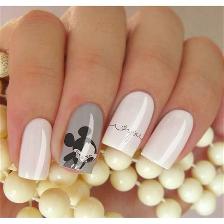 Fascinating Square Acrylic Nails;Spring Nails; Acrylic Nails; Square Nails; Square Acrylic Nails Designs; Short Nails;