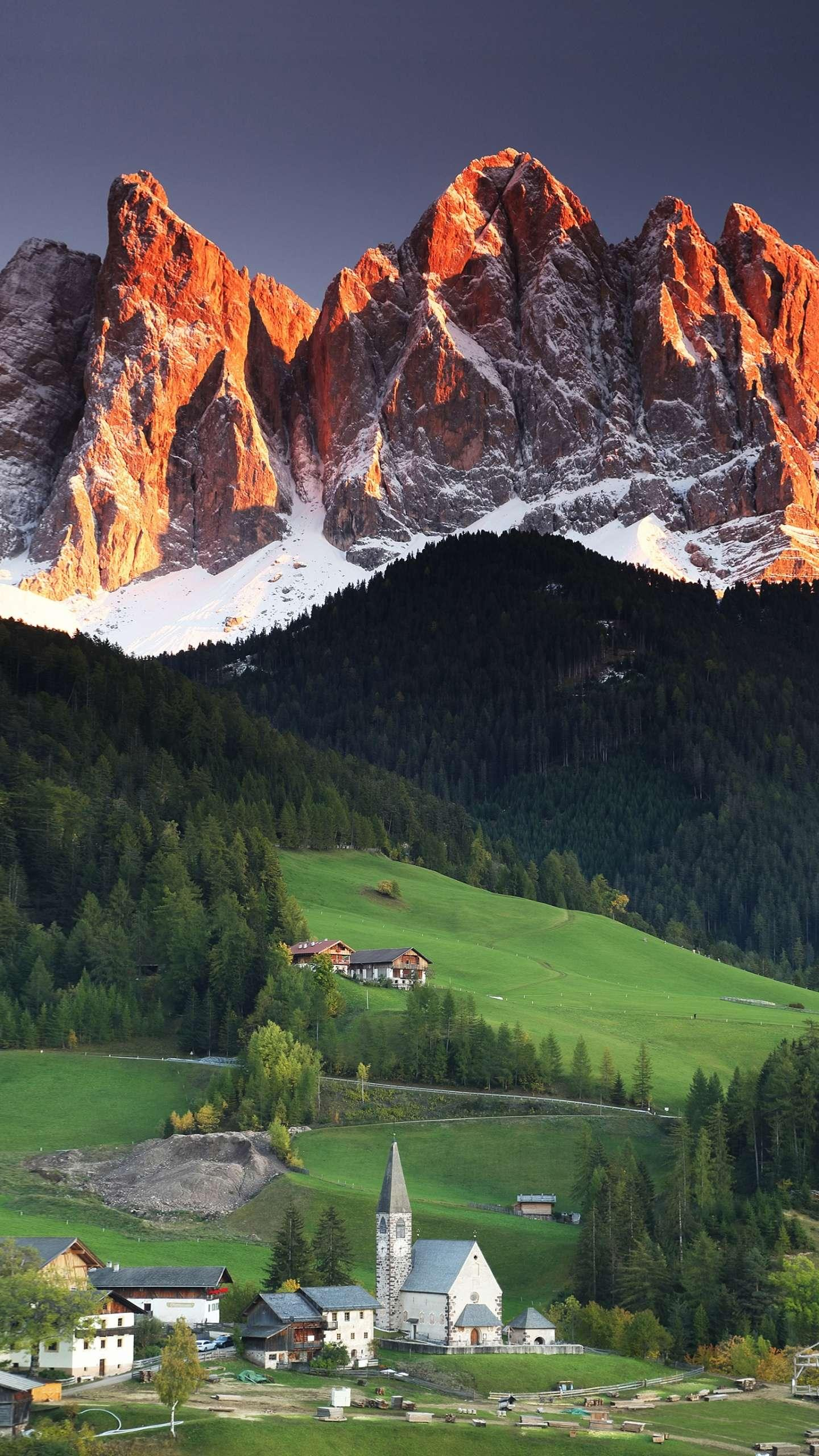 Funas Valley. The valley in the fairy tale - the Furnas Valley is an important business card for the Italian Dolomites.