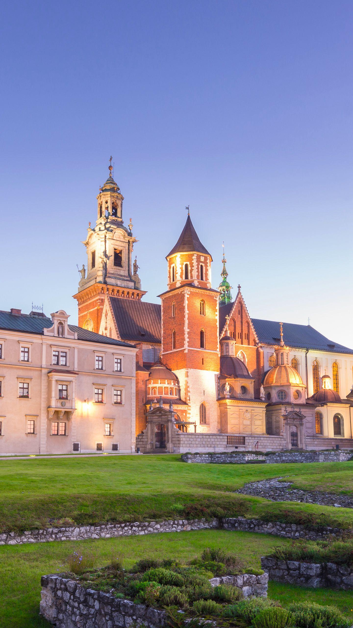 Poland - Wawel Castle. A Gothic building that has long been the residence of the Polish royal family and is one of the national symbols of Poland.