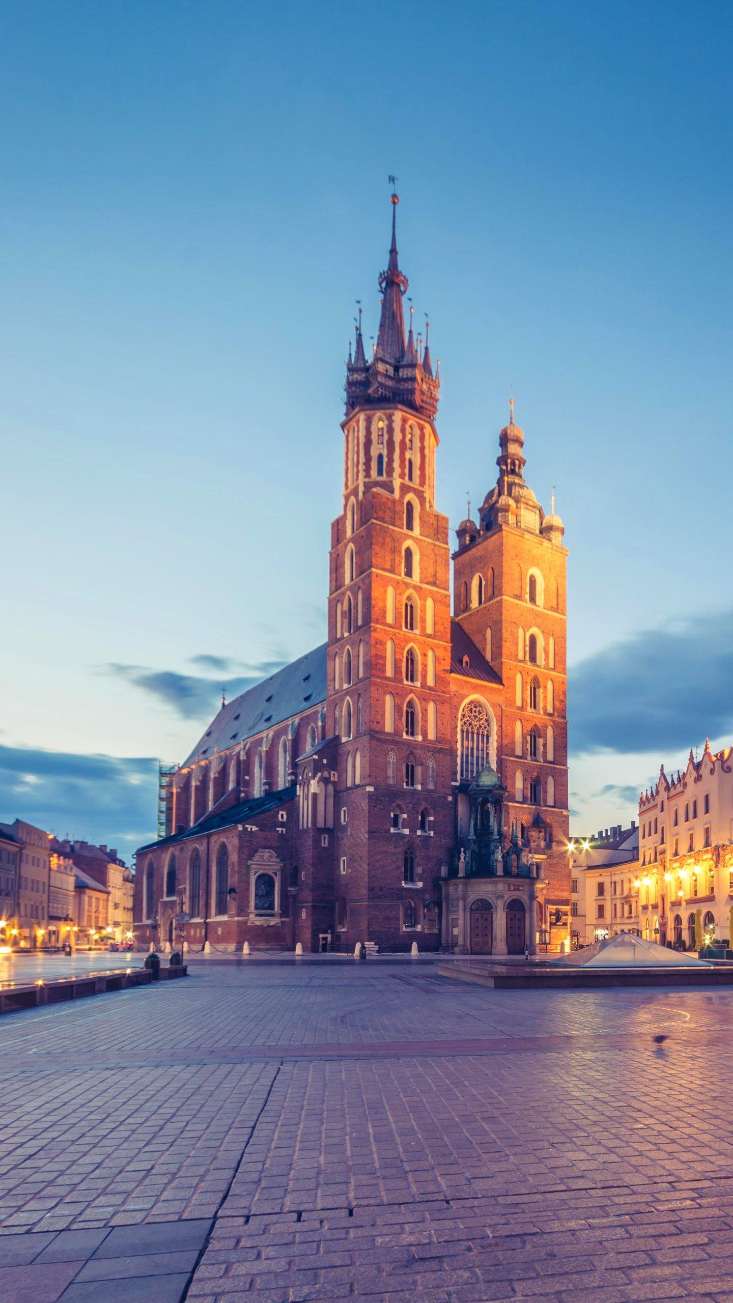 Poland - Krakow. The third largest city in Poland, once the capital of Poland, has a long history.