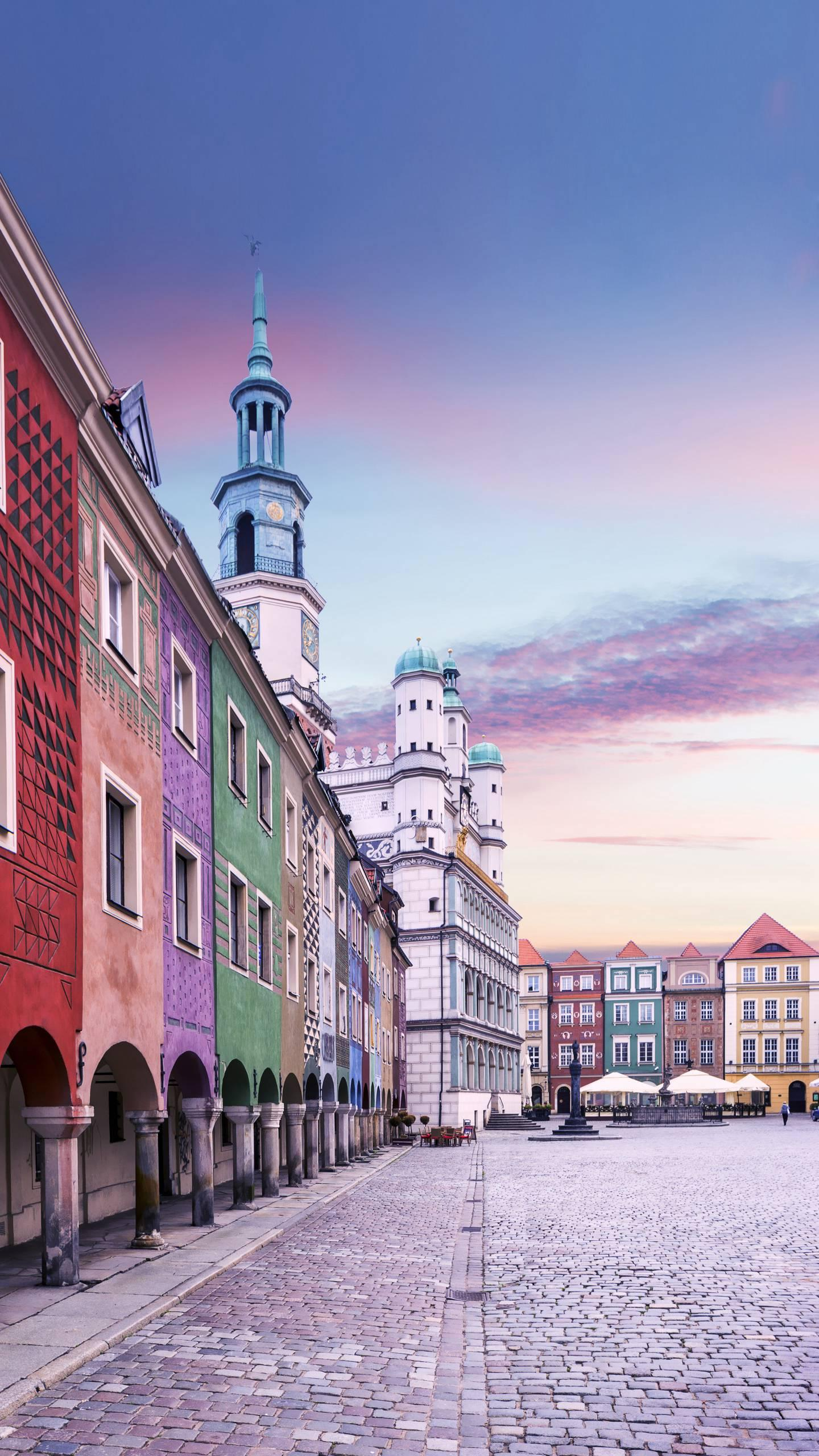Poland - Poznan. One of the oldest cities in Poland, originally built in the ninth century, and later the capital of Poland.