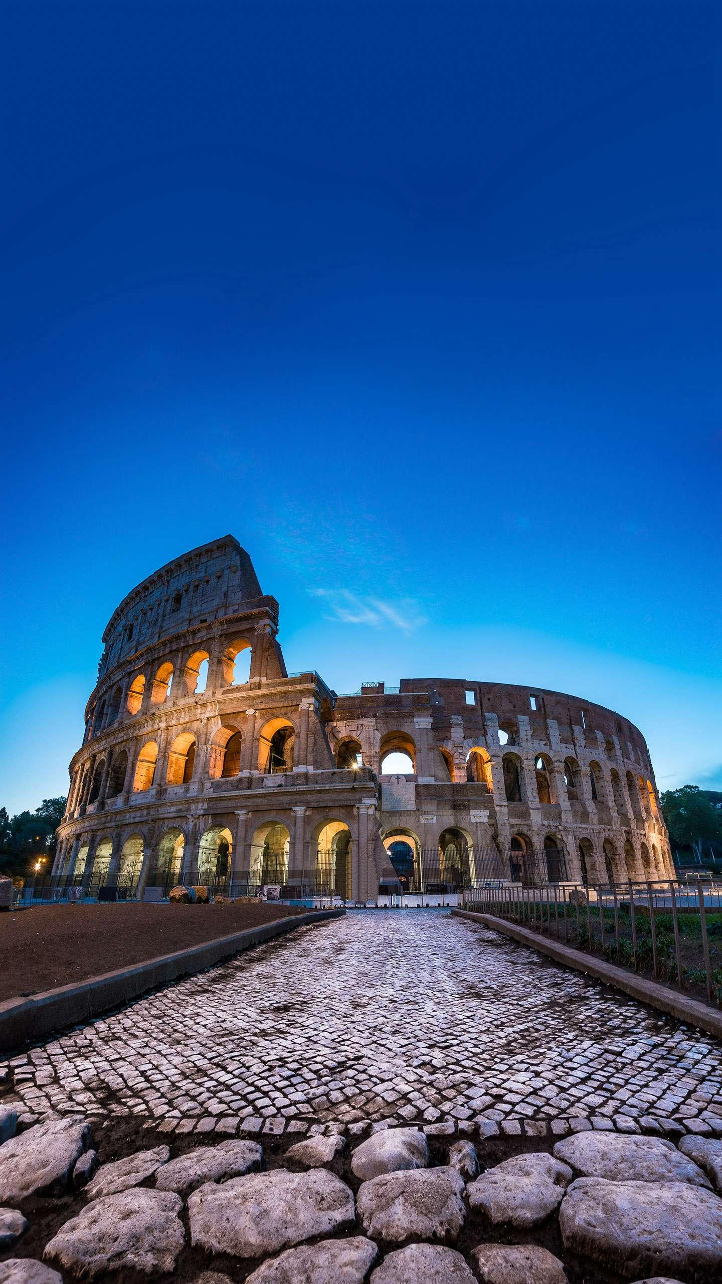 Colosseum in Rome. The masterpieces and miracles that are exemplary in the history of architecture are known for their vastness, majesty and grandeur.