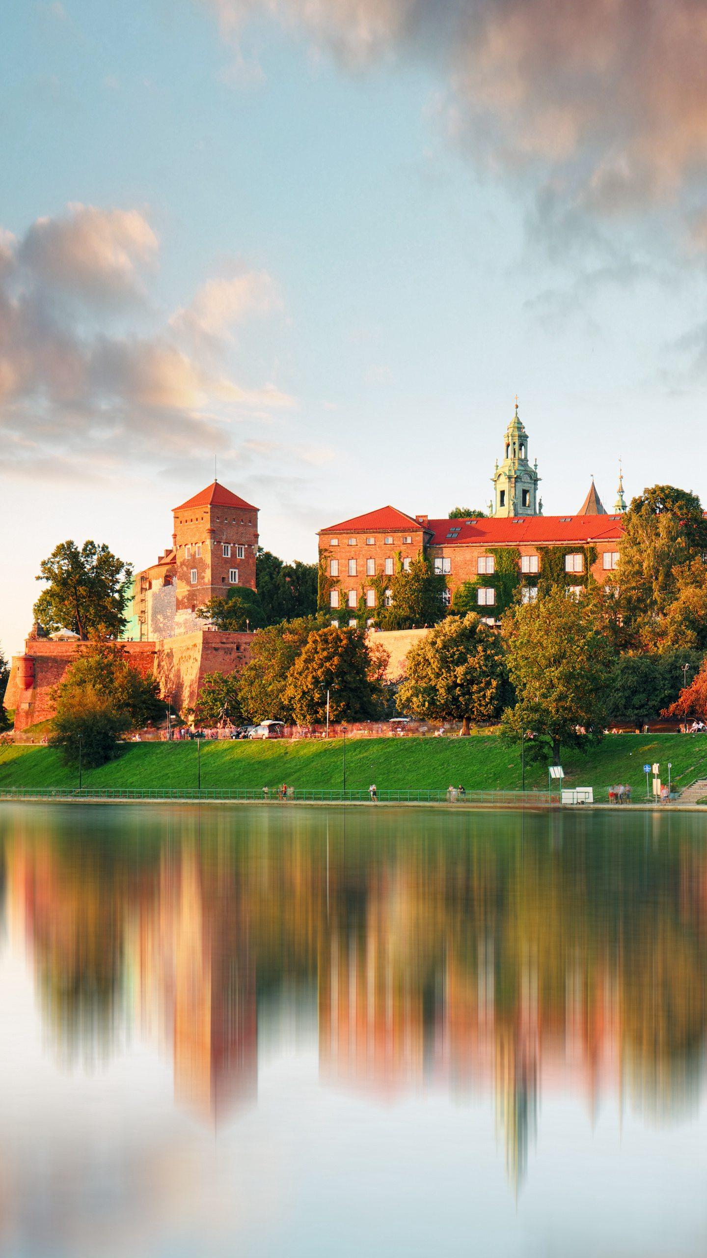 Poland - Wawel Castle has long been the residence of the Polish royal family and is one of the national symbols of Poland.