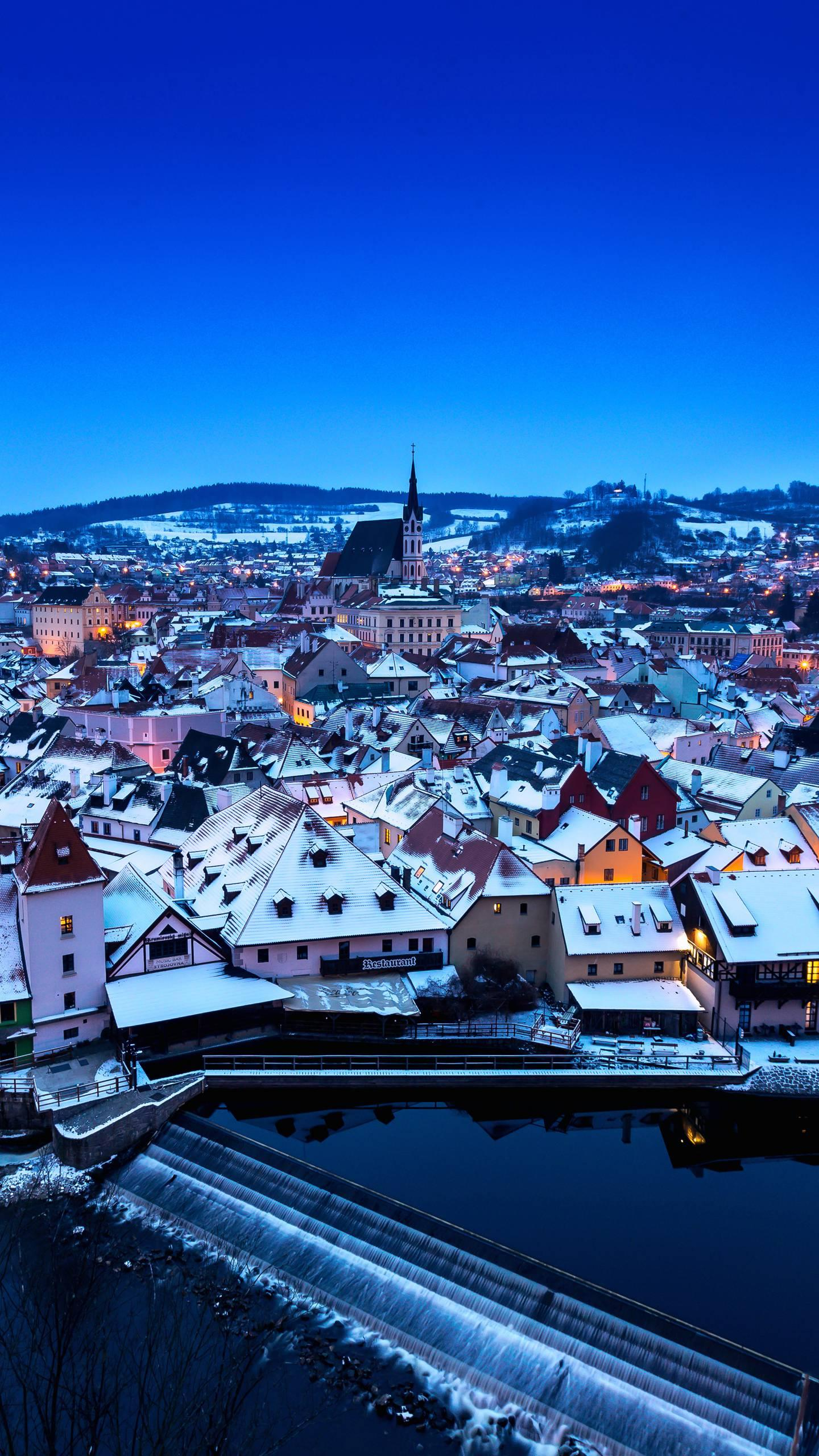 Winter in the European town. The winter of these 8 European towns is a veritable fairy tale world.