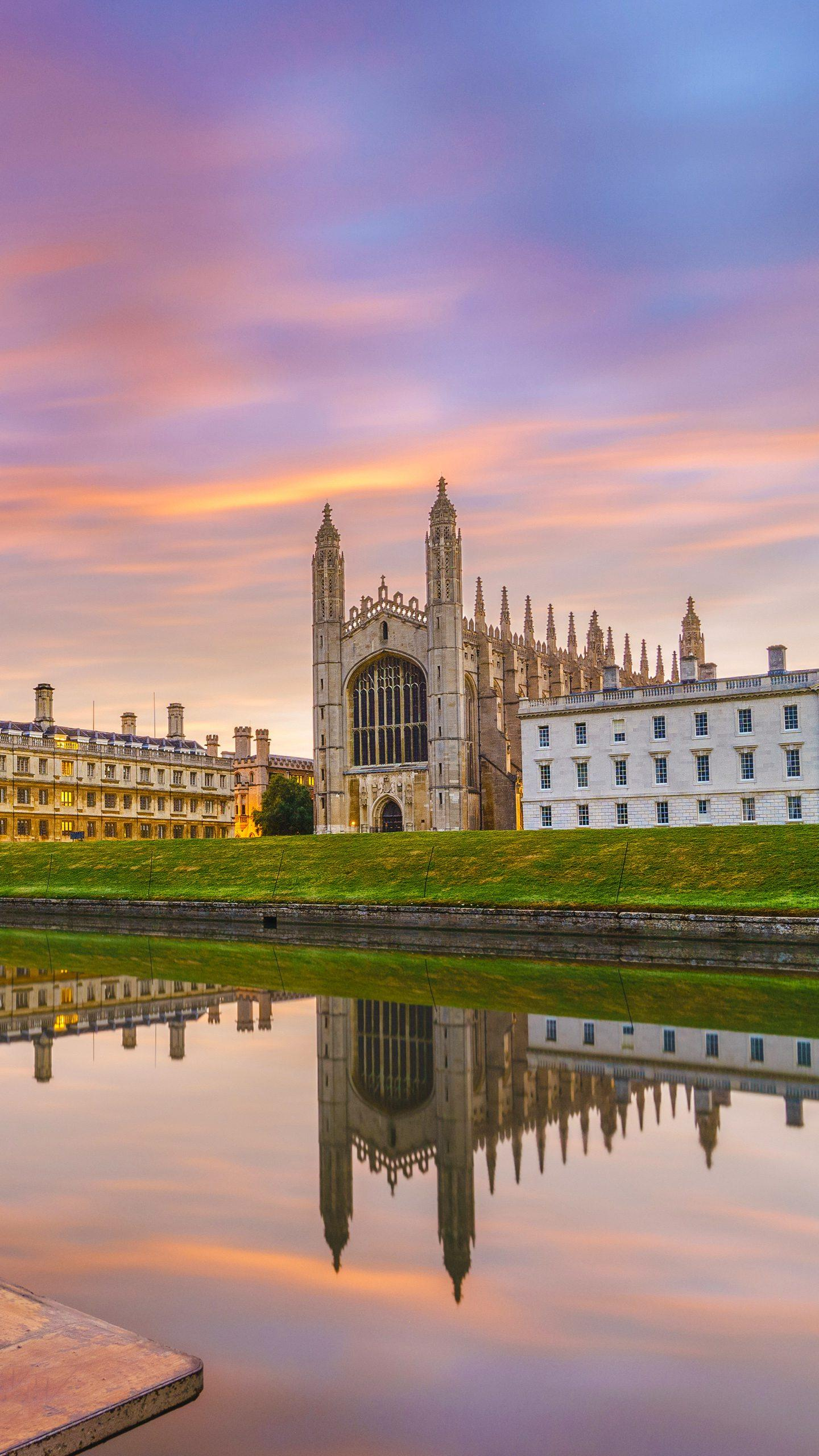 United Kingdom - Cambridge. A fascinating university town, preserved with many medieval buildings, exudes a strong literary atmosphere.