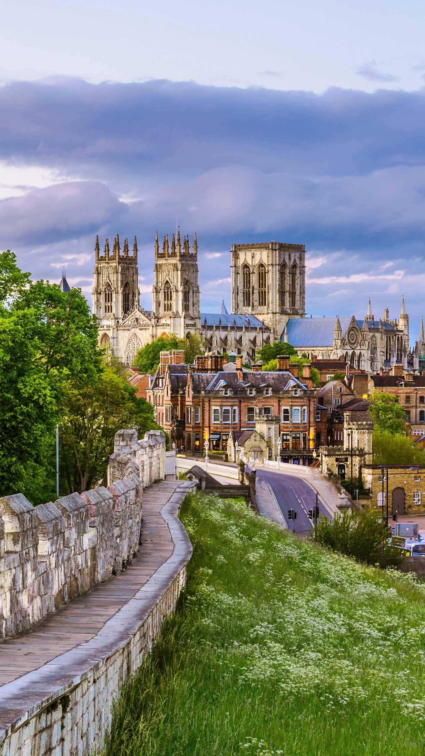 Britain - York. One of the most famous historical and cultural cities in the UK, with many places of interest.