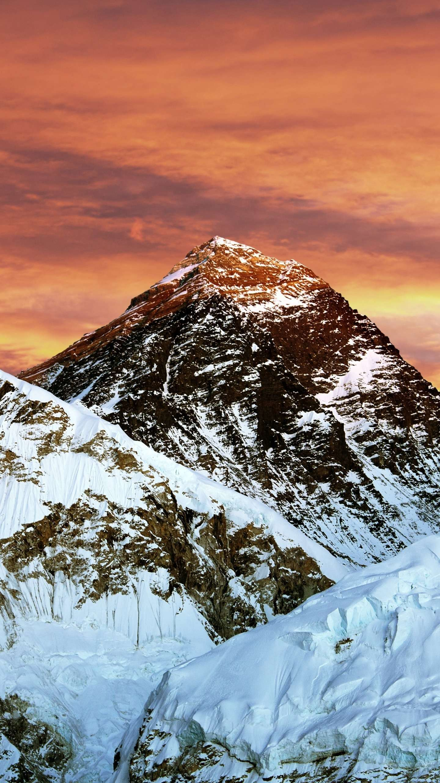Mount Everest. Mount Everest is still one of the wildest dreams of mankind.