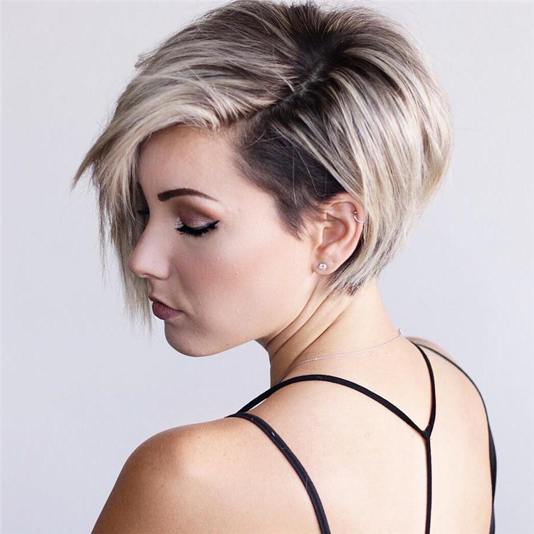 25 Short Edgy Pixie Cuts And Hairstyles Sumcoco Blog