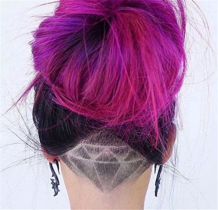 Unique Chic Undercut Hairstyles Designs; Undercut Designs; Unique Hairstyles