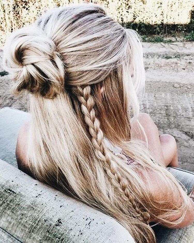 2019 Dutch Braid Tutorial; Side Dutch Braid Styles; Half-up Dutch Braid; Ponytail with Dutch Braid; Dutch Braided Hairstyle Ideas.