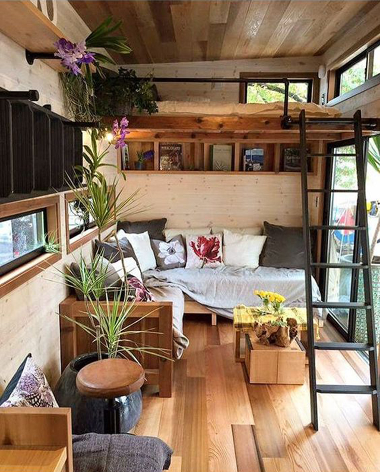 Tiny House Design Ideas To Inspire You; Easy Furniture DIY Projects For Interior Design; Cute Furniture Tiny House For Simple Life.