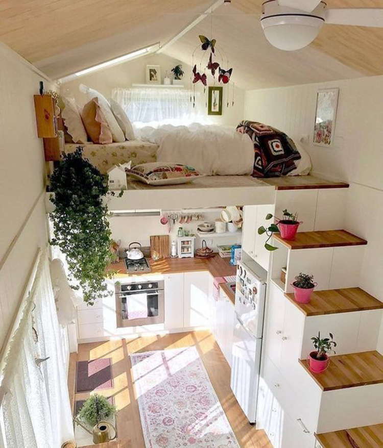 Simple Home Interior Design: 45+ Tiny House Design Ideas To Inspire You