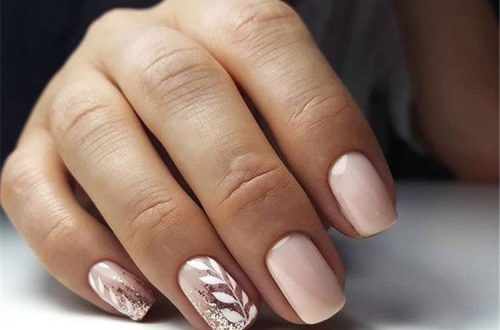 35 Leaf Nail Art Ideas