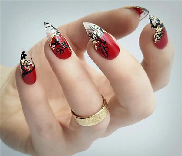 60+ Coolest long Stiletto Nails Designs; Cool stiletto nails; stiletto nails; stiletto nails short; stiletto nails long