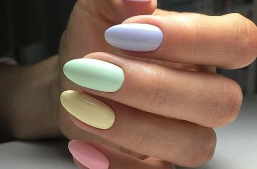 35 Extremely Cute Candy Nail Art Design; Winter Nails; Nails Art; Nails Design; Nails; Rainbow Nails; Nail Acrylic; New Year Nails; #Sumcoco