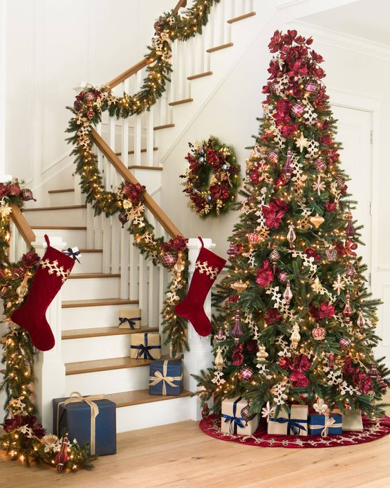 ree Decorating Ideas 2018.Christmas tree decorating ideas; Christmas decorations; DIY Christmas crafts; Christmas.
