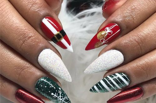 20+ New Collection Of The Trend Stiletto Nails