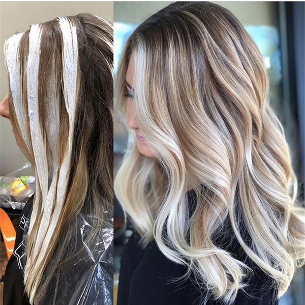 20 Trendy Hair Highlights Balayage Application