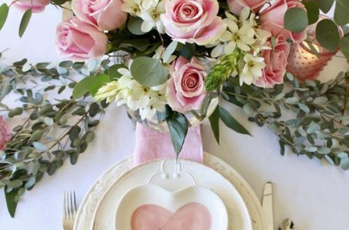 Romantic Valentines Day Table Decor Ideas; #Valentine'sdaydecor valentines day Inspiration