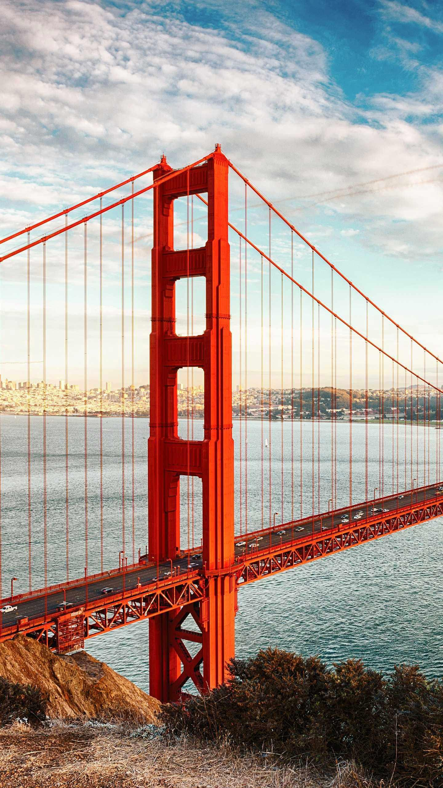 "The story behind the Golden Gate Bridge. Years ago, the newly opened Golden Gate Bridge was described as ""a $35 million steel harp."""