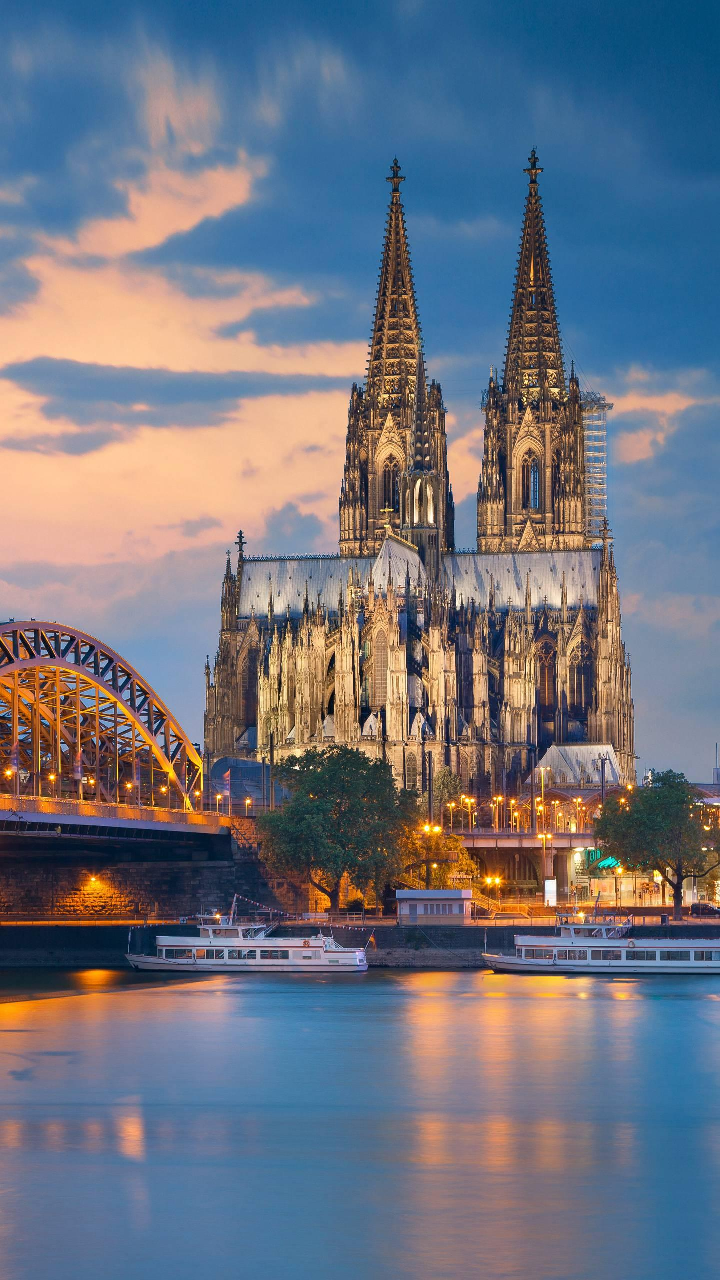 Germany - Cologne Cathedral. The combination of grandeur and exquisiteness is regarded as the perfect example of Gothic church architecture.