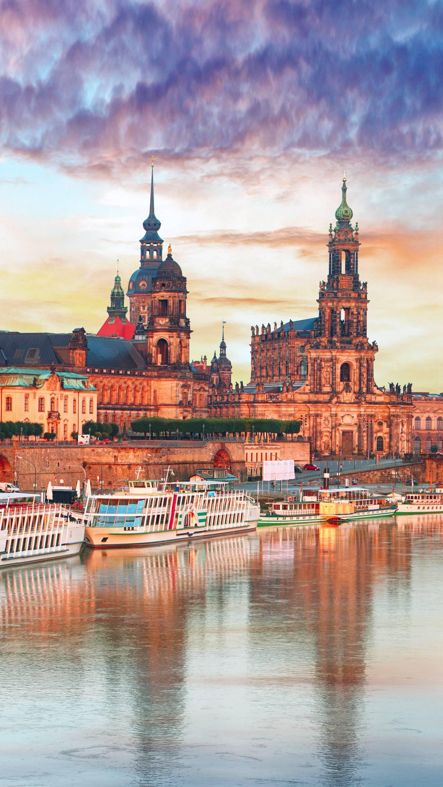 Germany - Dresden. With hundreds of years of prosperity and splendid culture and art, it is regarded as one of the most beautiful cities in Europe.