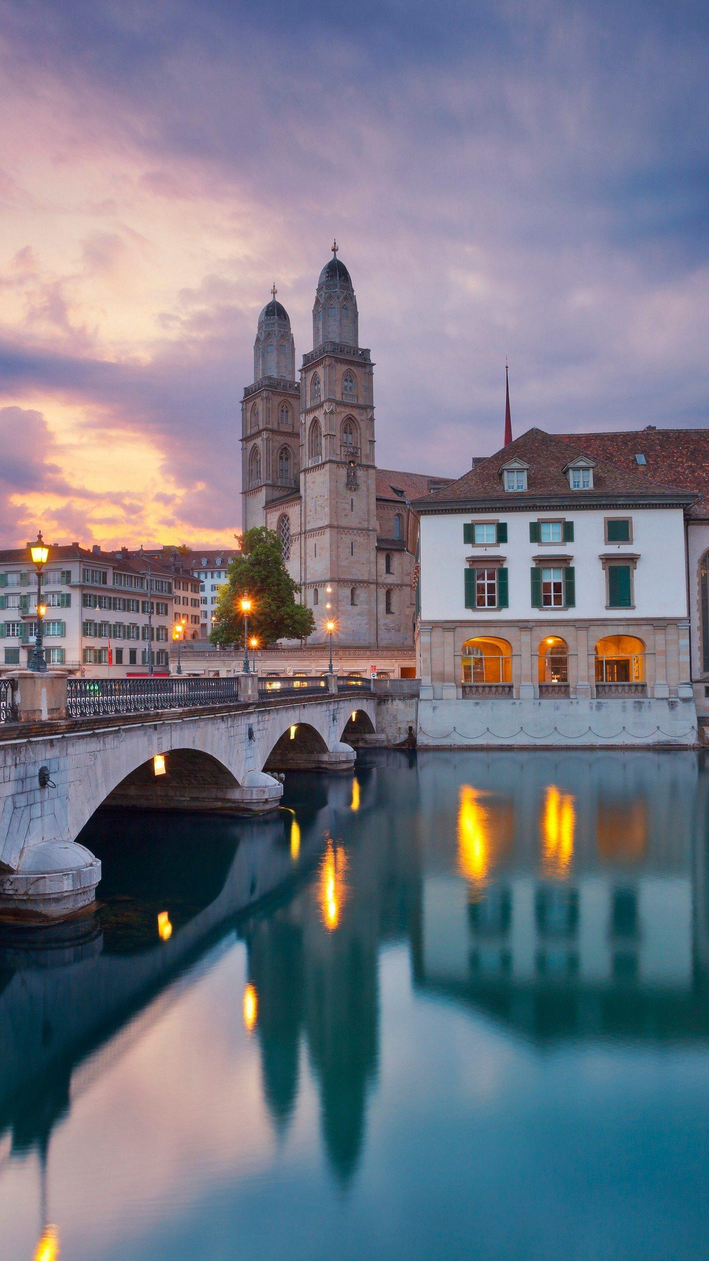 Zurich. This is Europe's financial center and is rated as the most liveable city in the world.