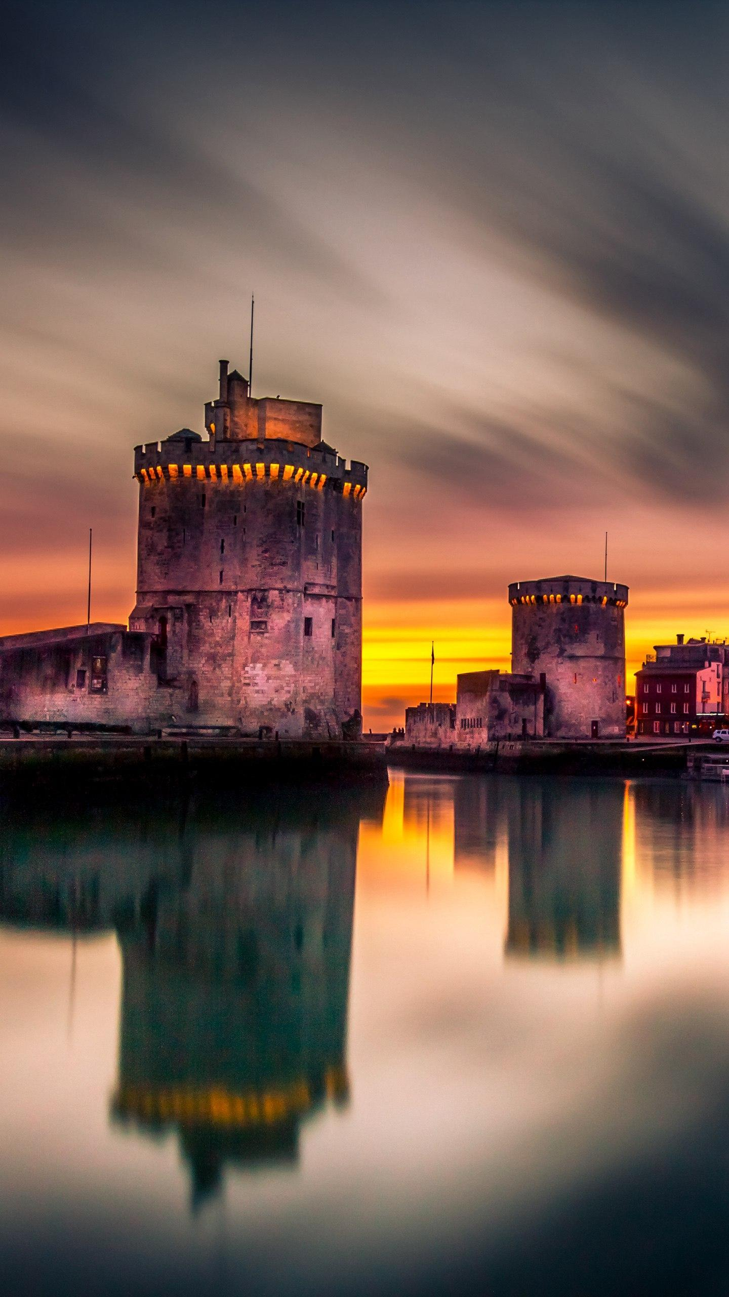 France - La Rochelle. Known as the city with the most beautiful sea views in France, it has a charming scenery and a long history.