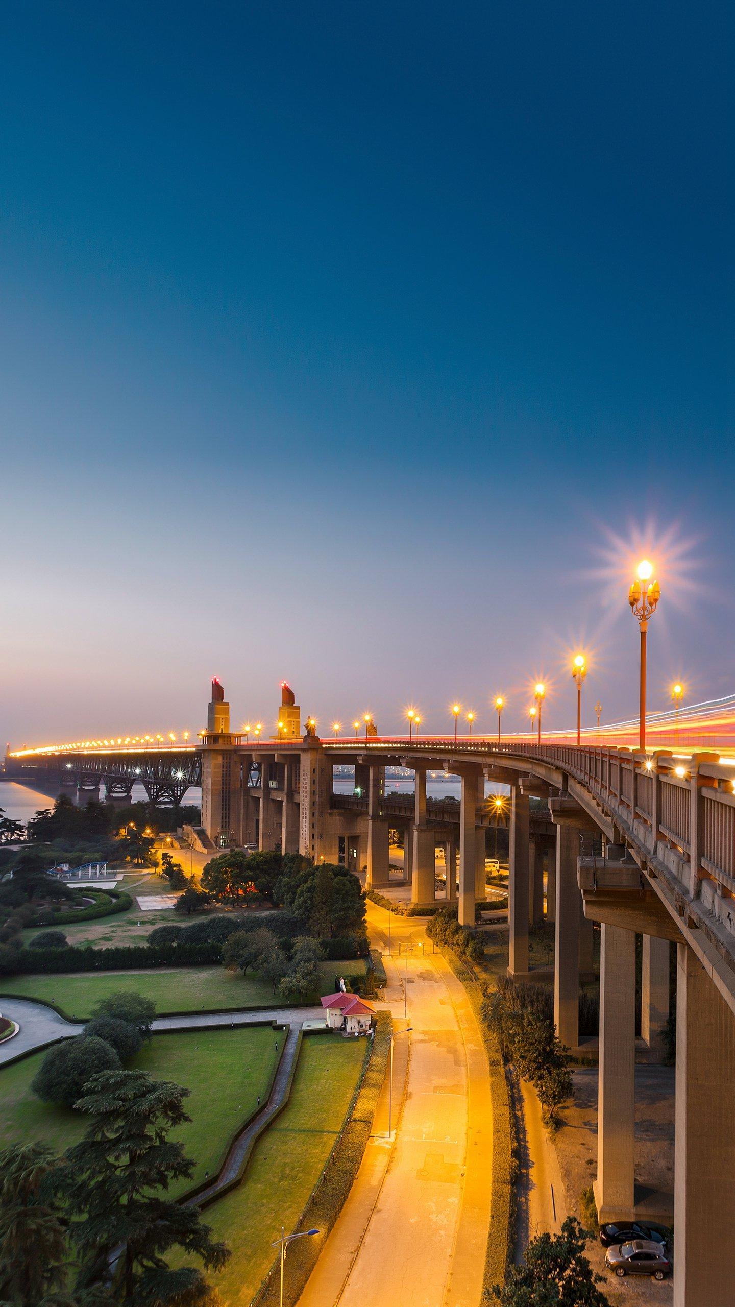 Yangtze River Bridge. Several of the Yangtze River Bridges in Jiangsu Province are shocking to China's bridge construction technology.