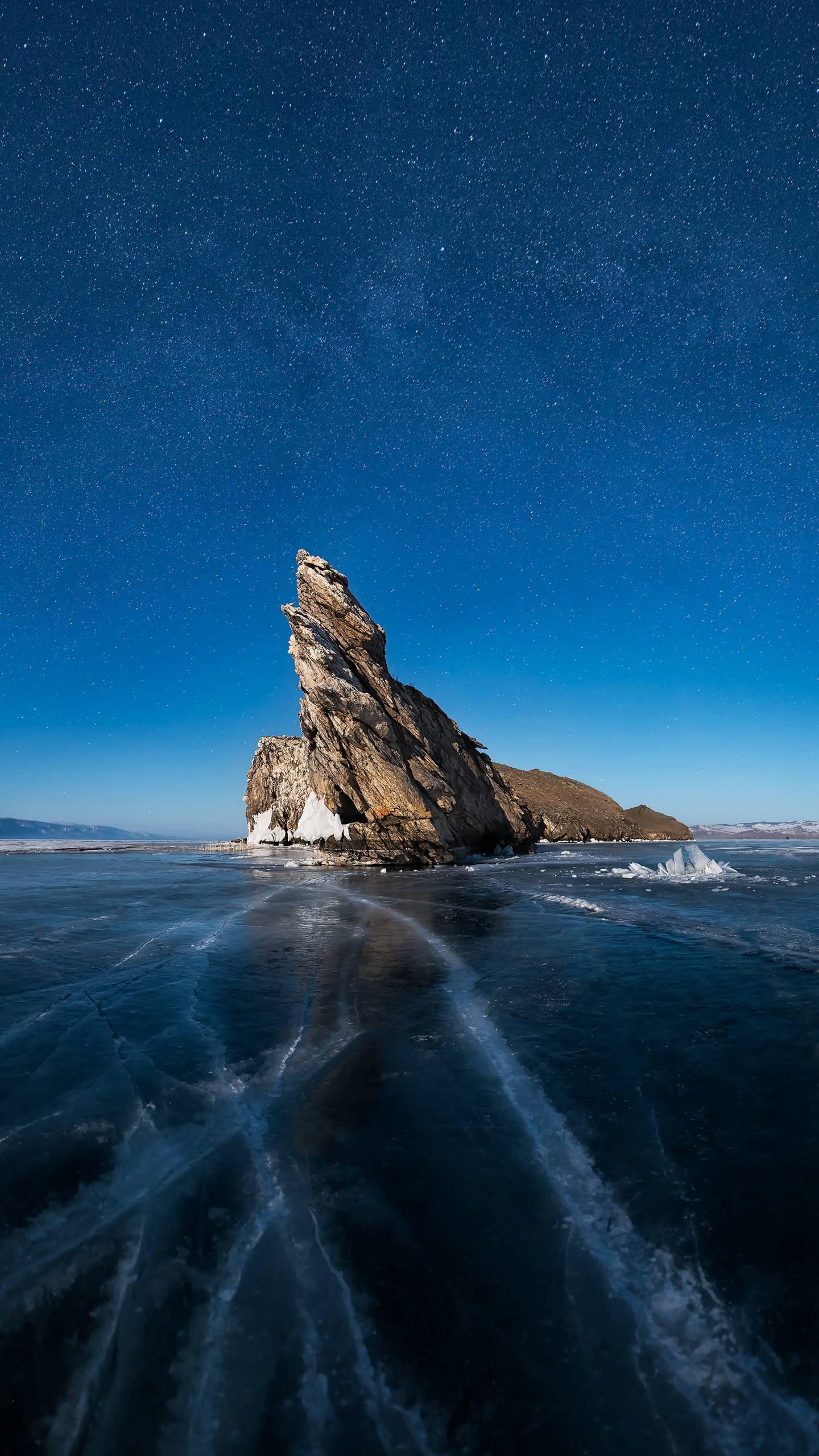 The unsolved mystery of Lake Baikal. Although it is a freshwater lake, it is home to marine animals in its lakes.
