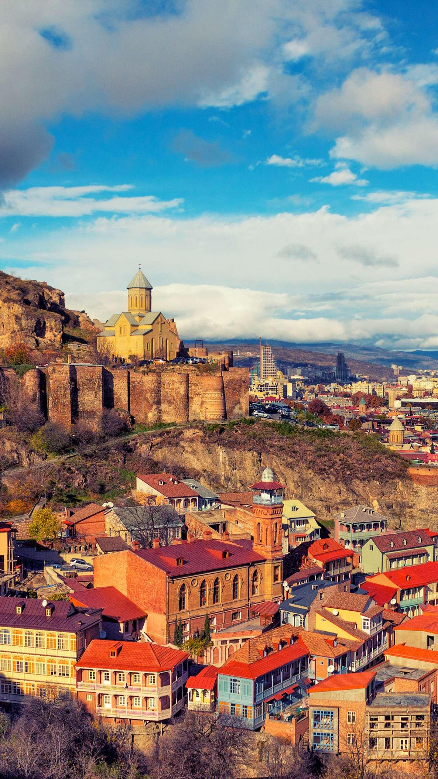 Tbilisi. There is probably no city in the world like Tbilisi. It is like a red wine with sunshine. It is very fascinating.
