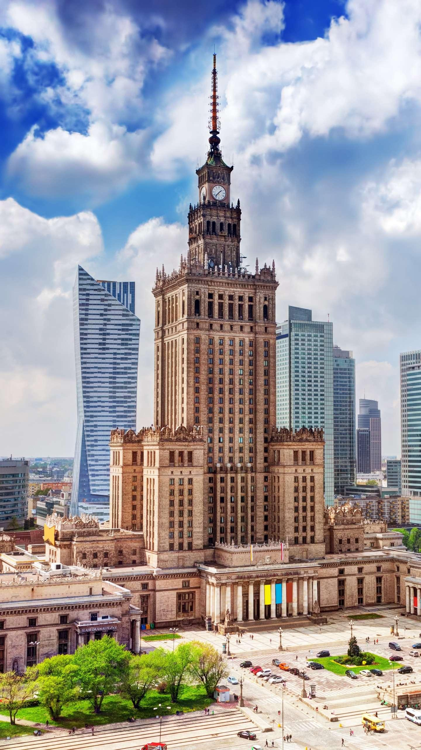 Poland - Warsaw. In order to commemorate a pair of lovers named Walsh and Shawa dare to break through the obstruction, the city was named Warsaw.