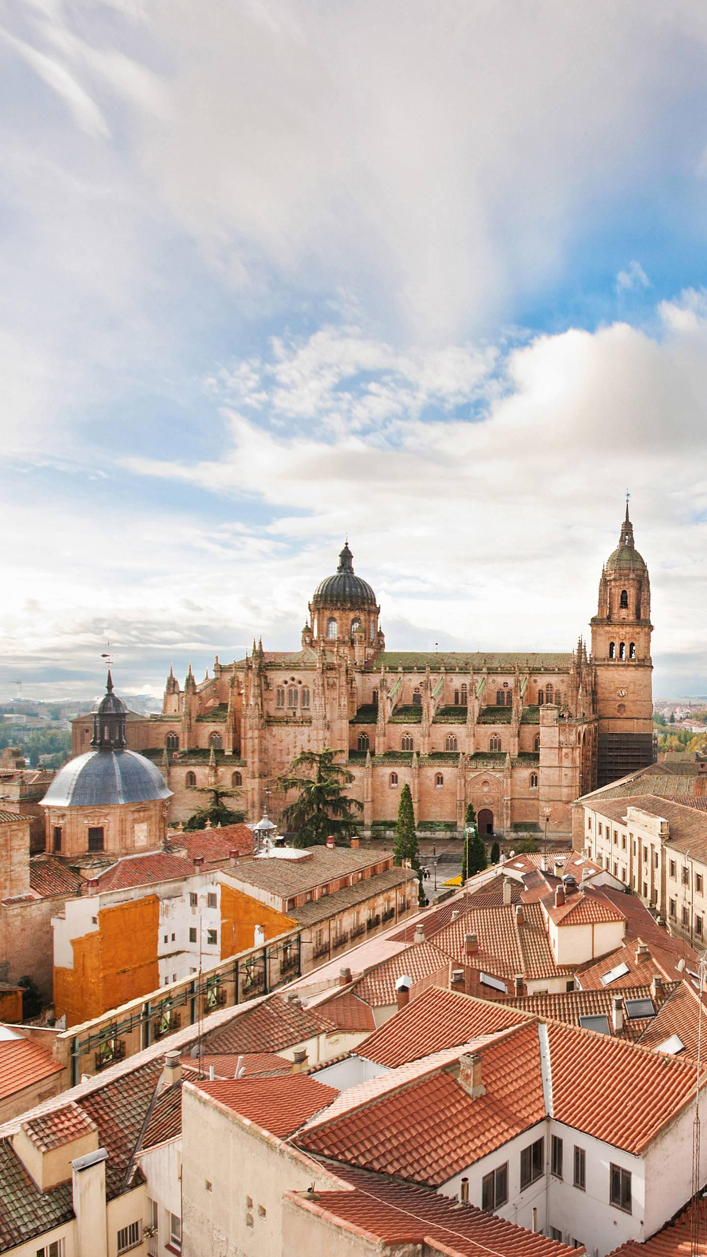 Spain - Salamanca. One of the famous tourist destinations in the Spanish mainland, with ancient humanities traditions and rich historical and artistic heritage.