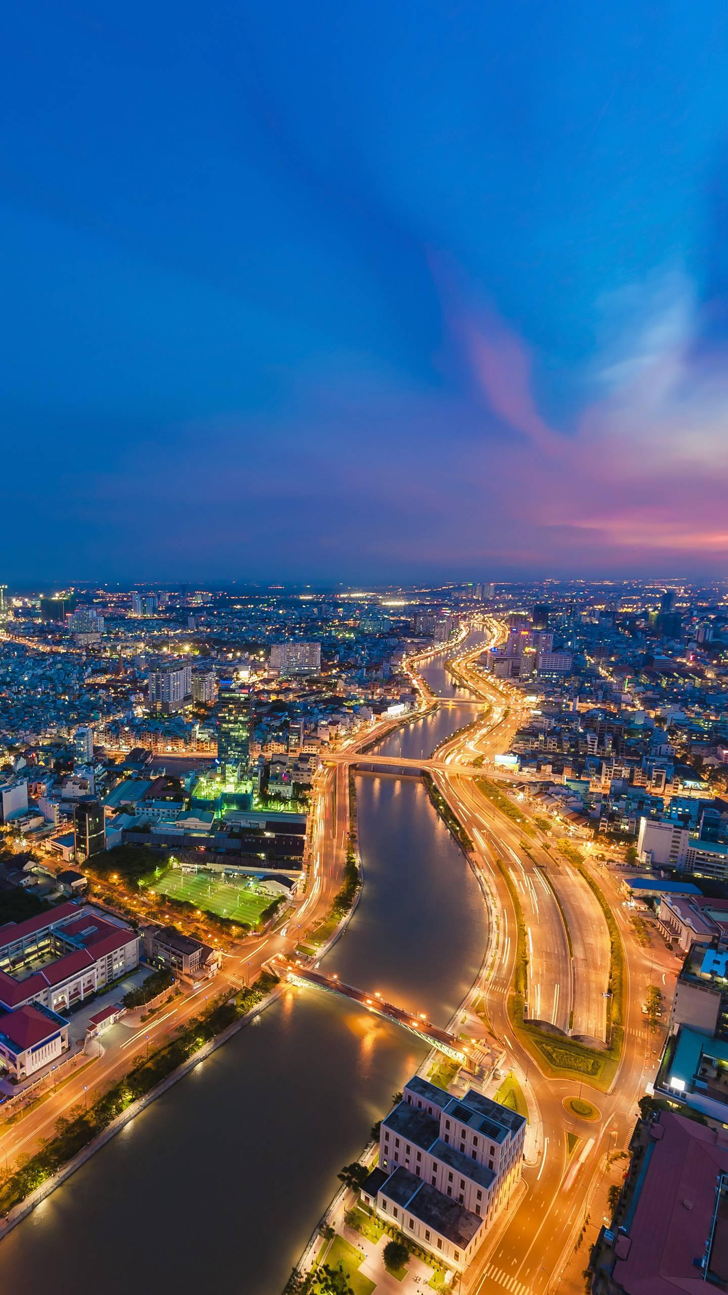 "Vietnam's Ho Chi Minh city. As the largest city in Vietnam, Ho Chi Minh City is full of rich French feelings and is known as the ""Paris of the East""."