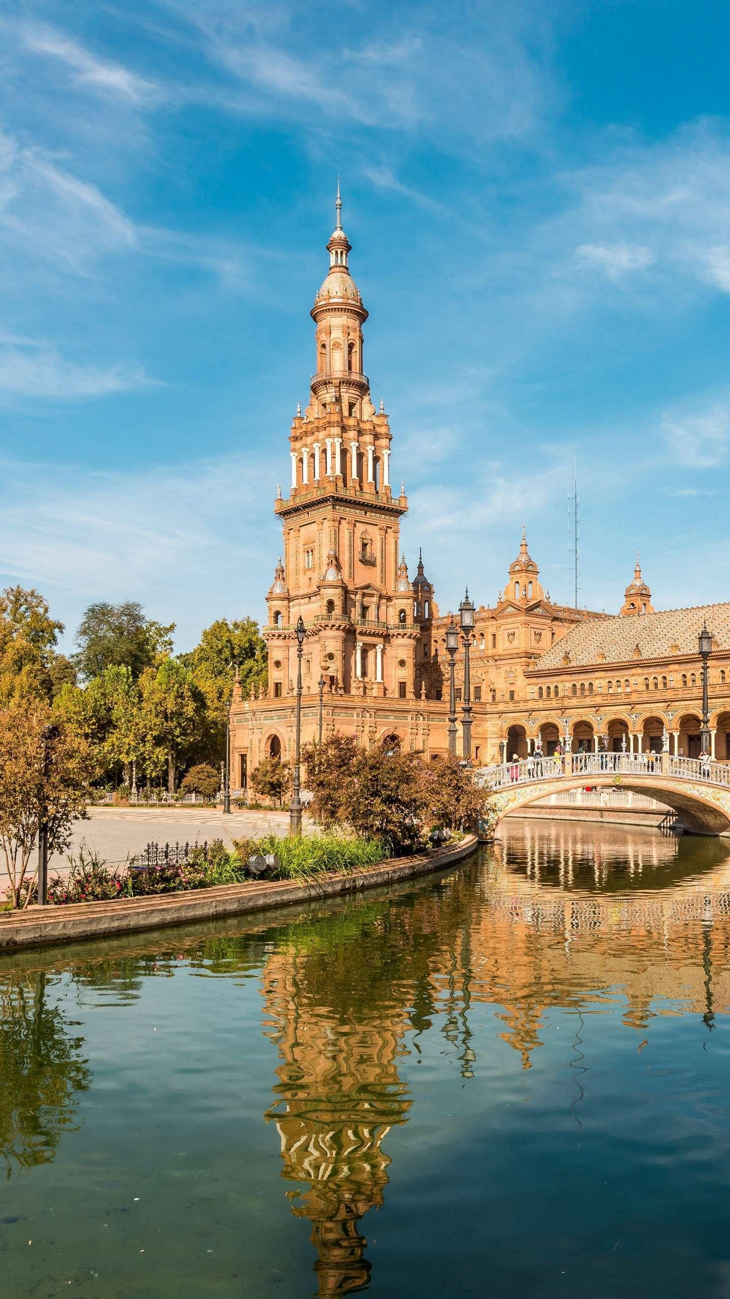 Seville. The prosperity and decline of Seville condensed the rise and fall of the Spanish Empire and was the best testimony to the golden age of Spain.