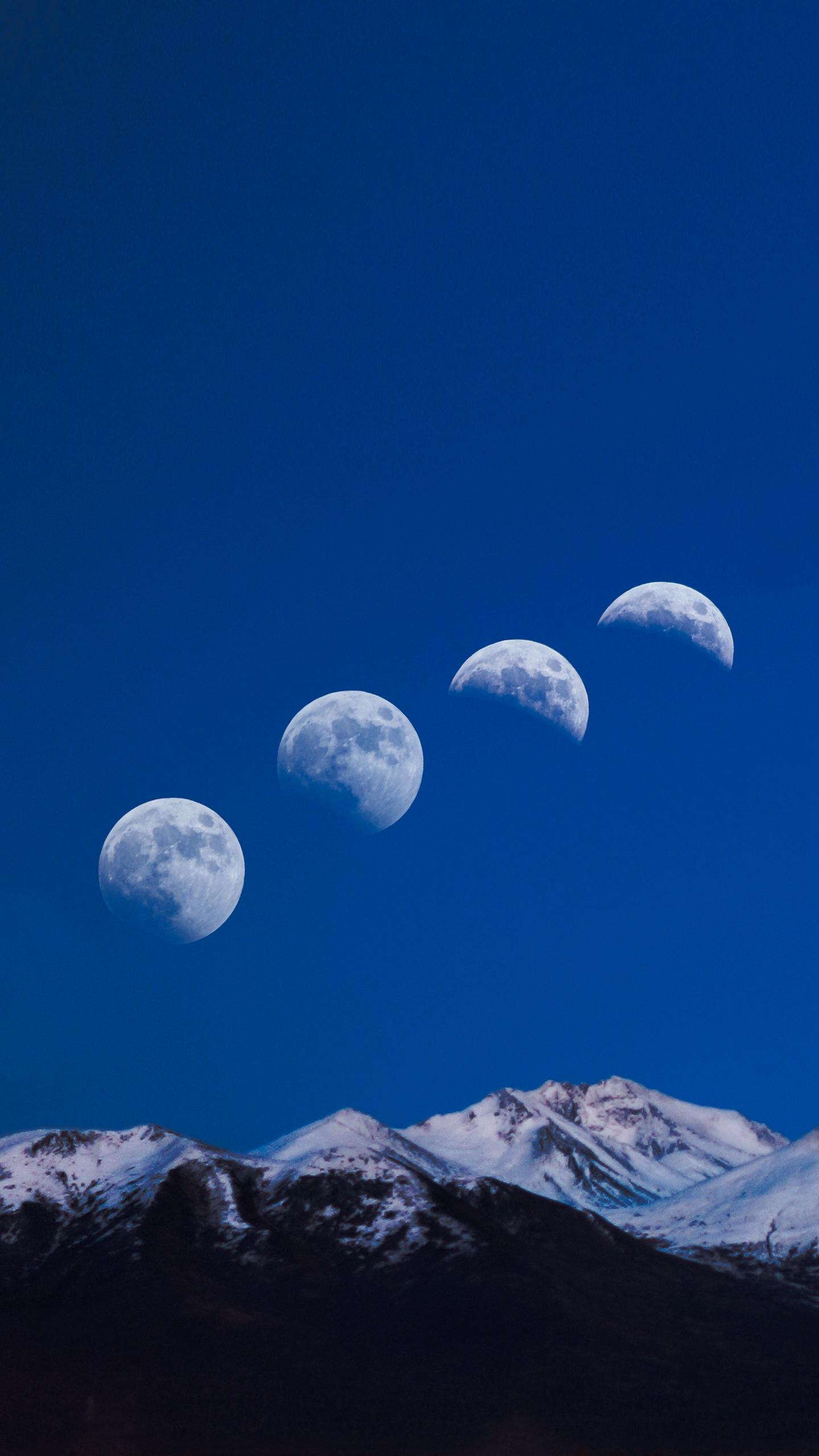 A day on the moon. The earth rotates for 24 hours. How long does it take for the moon to spin?